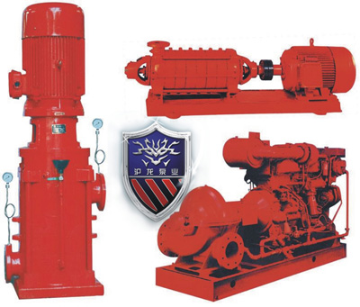 沪龙牌xbd室内消火栓系统加压泵,单吸多级,分段式结构