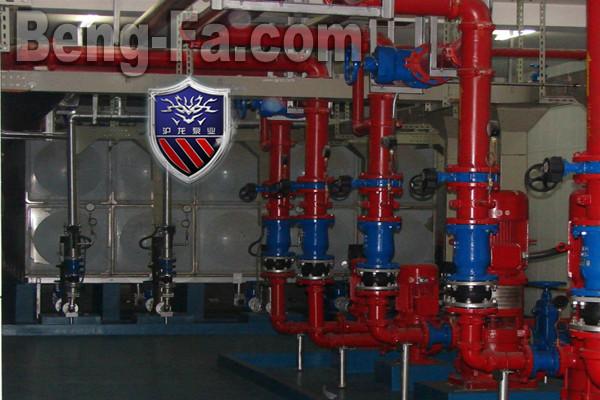 供应消防泵房给排水设计