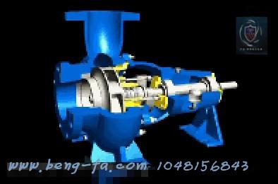 (4)电机与泵连接前;应先单独试验电动机的转向;确认无误后再
